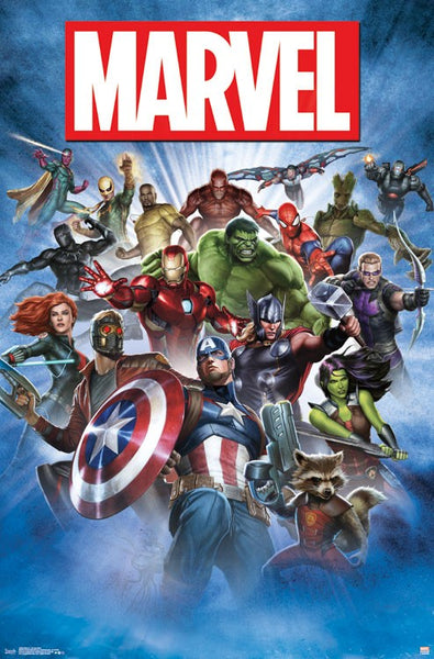 Marvel - Group Shot 24 x 36 - FLM15503