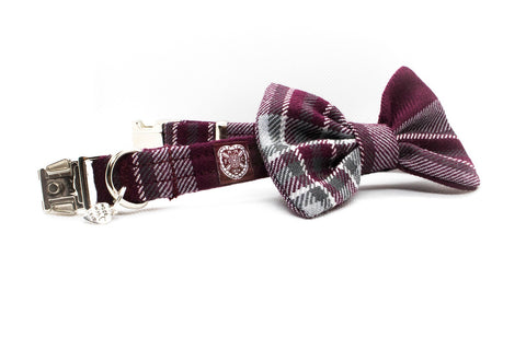 The Hearts FC Bowzos Dog Bowtie Collar - BOWZOS