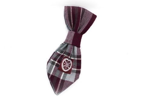 The Hearts FC Bowzos Dog Tie - BOWZOS