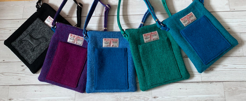 Harris Tweed Crossbody Bag - BOWZOS