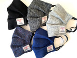 Harris Tweed Protective Face Cover (Free UK Delivery) - BOWZOS