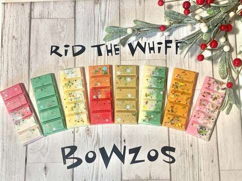 Festive Wax Melt Snap Bars