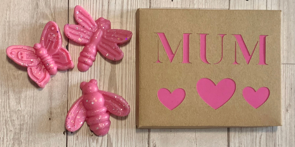 Bowzos Butterfly Box Wax Melt Gift- Mother's Day (Free UK Delivery)