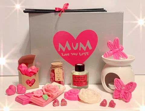 Bowzos Luxury Personalised Mother's Day Gift Box (Free UK Delivery)