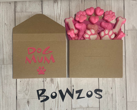 Bowzos Dog Mum Wax Melt Envelope Bouquet (Free UK Delivery)