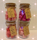 Valentines Jar of Hearts Wax Melts