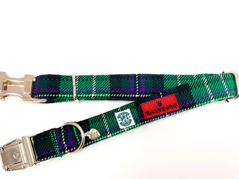 The Hibernian FC Bowzos Dog Collar - BOWZOS
