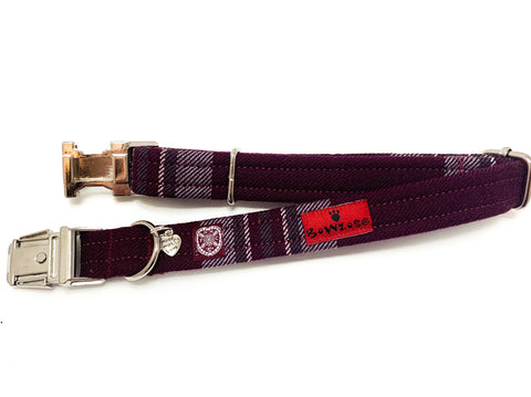 The Hearts FC Bowzos Dog Collar - BOWZOS