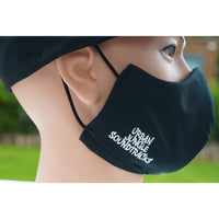 100% Combed Cotton Reinforced Face Mask