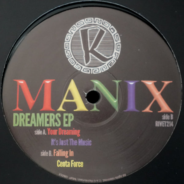 Manix - Dreamers EP / 4 track Vinyl / (inc digital download) - PRE ORDER