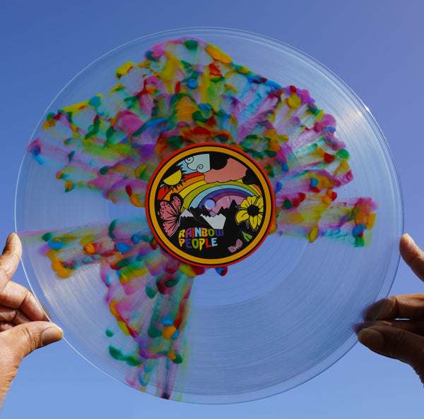 MANIX - Rainbow People (Special Edition Splatter Vinyl) - PRE ORDER