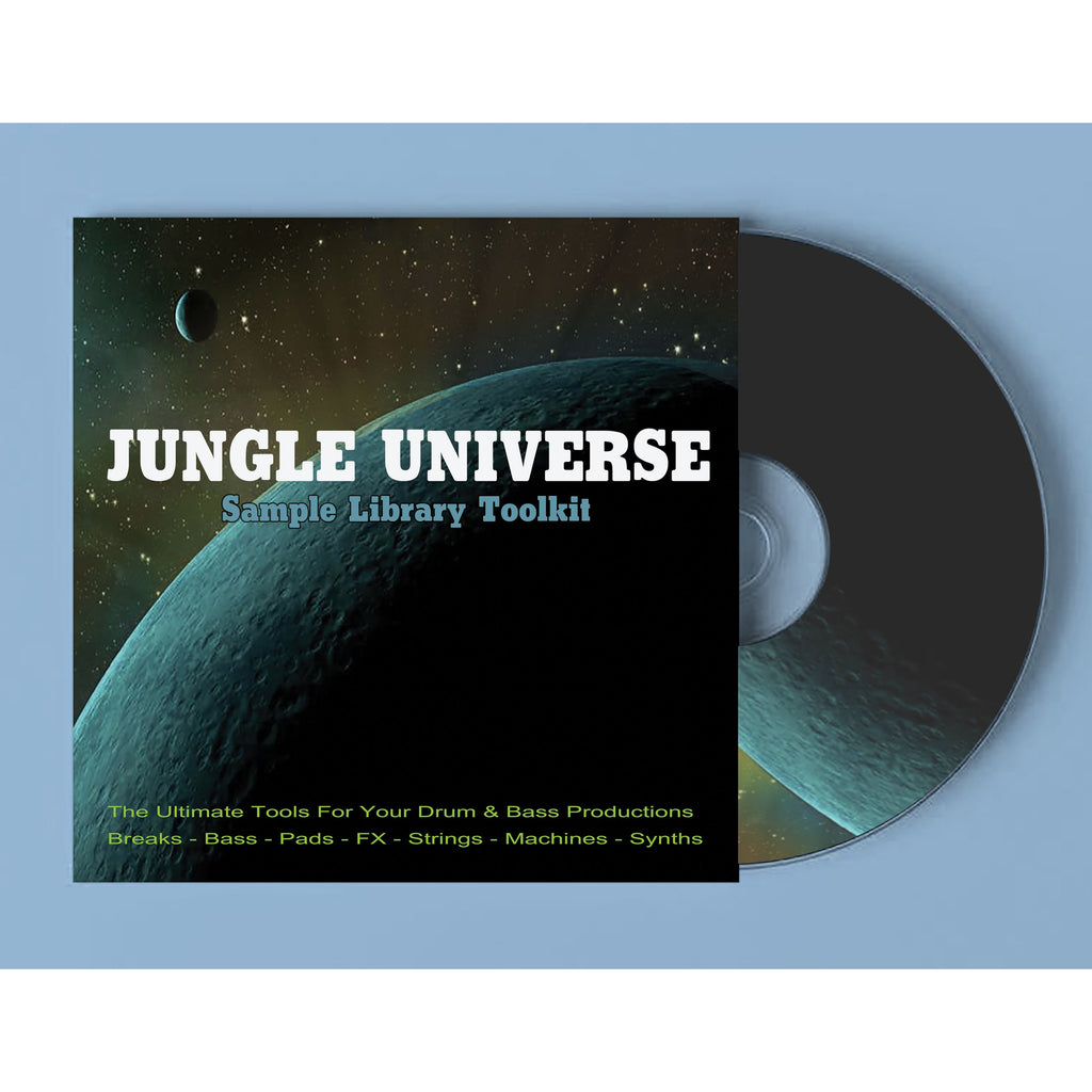 Jungle Universe - Sample Library CD & Download