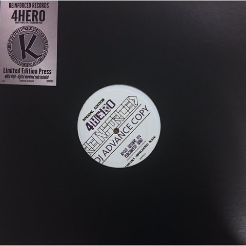 "4 HERO - Angry People(VIP)/Evacuation Plan - Limited Edition 12"" Vinyl"