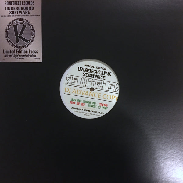 "Underground Software - 4 track EP - Limited Edition 12"" Vinyl"