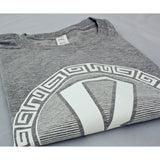 Reinforced Heather Grey with White T Shirt