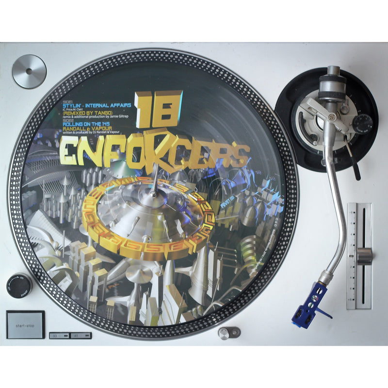 ENFORCERS 17 & 18 Limited Edition Picture Disc 2x Vinyl 12""