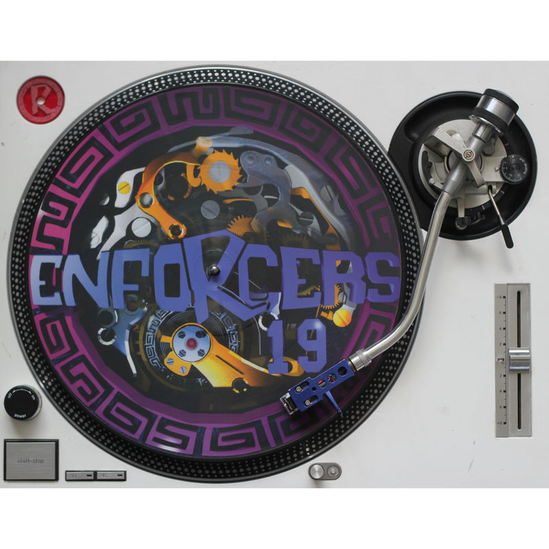 "ENFORCERS 19 & 20 Limited Edition Picture Disc 2 x Vinyl 12"" + Digital"