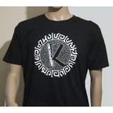 Reinforced R-type Organic T-Shirt  (Black)