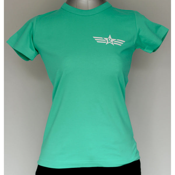 Ladies Army StaR Crew Neck Tee