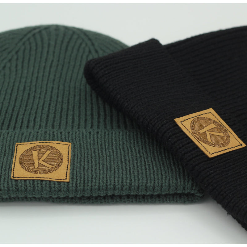 Ribbed knit Fisher Beanie