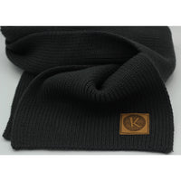 Reinforced Winter Heavy Knit Scarf