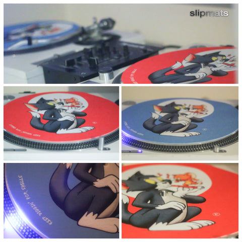 Tom & Jerry Slipmats (PAIR) - Limited Edition