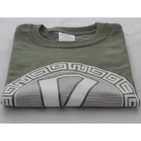Reinforced Military Green Short Sleeve T Shirt (Classic R)