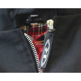 Reinforced Black Harrington Jacket