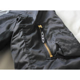 Reinforced MA1 Bomber Jacket - Black (silver 3d embroidery)
