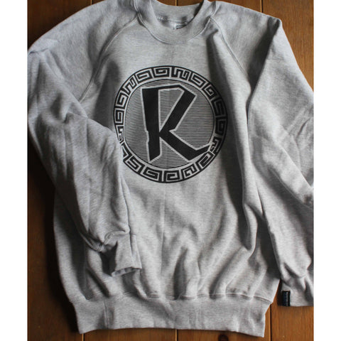 Reinforced Grey Classic Sweater