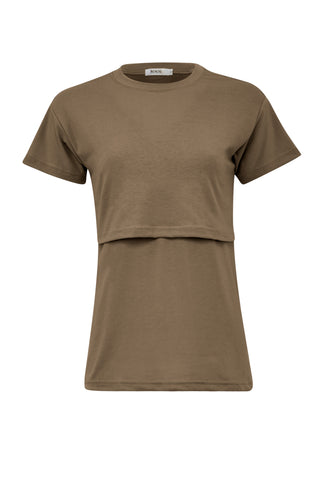 Breastfeeding Navy Type III T-Shirt
