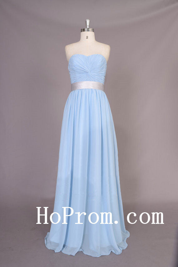 Simple Blue Prom Dresses,A-Line Prom Dress,Evening Dress