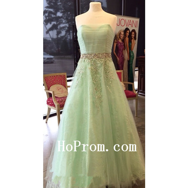 Light Green Prom Dresses,A-Line Prom Dress,Evening Dresses