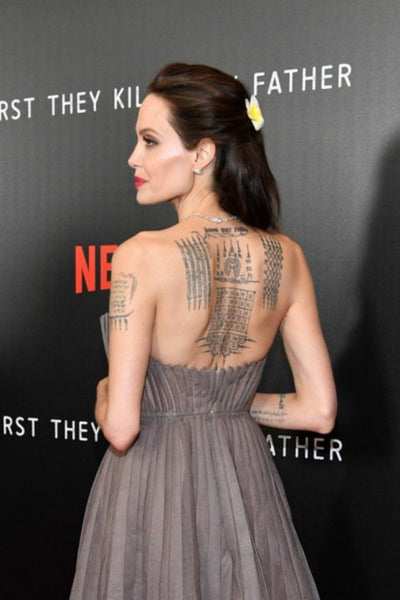 Dark brown Angelina Jolie Strapless Ball Gown Dress Prom Celebrity Red Carpet Dress 'First They Killed My Father' Premiere