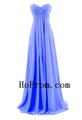 Long Chiffon Prom Dresses,Sweetheart Prom Dress,Evening Dress