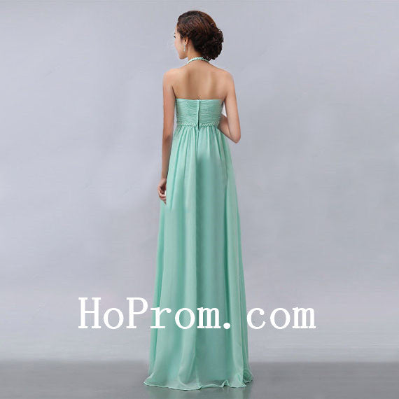 Halter Prom Dresses,Mint Green Prom Dress,Evening Dress