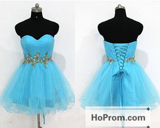 Short Mini Sweetheart Bandage Prom Dresses Homecoming Dresses