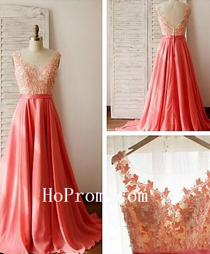 Zipper Applique Dresses,A-Line Prom Dress,Evening Dress