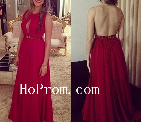 Open Back Prom Dresses,A-Line Prom Dress,Evening Dress