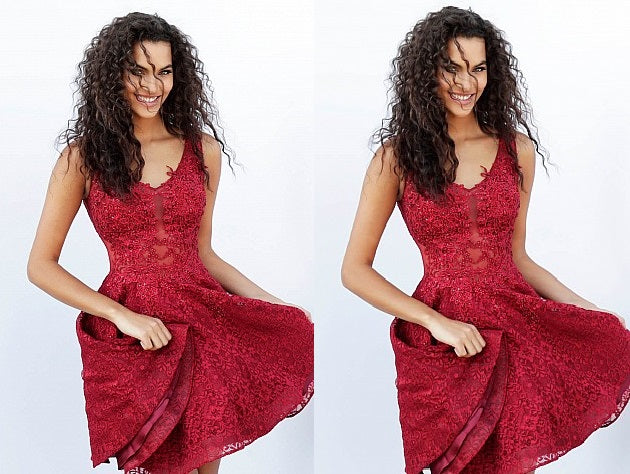 Burgundy V-neck Straps Full Lace Short Homecoming Dresses with beading