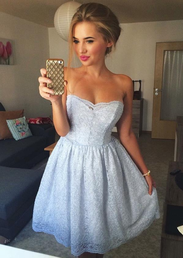 Cute Strapless Dresses