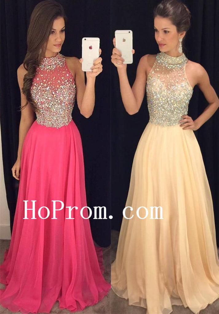 Sparkly Crystal Prom Dresses,Prom Dress,Evening Dress