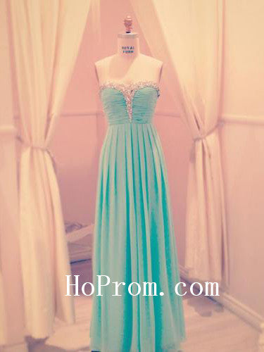Strapless Sweetheart Prom Dresses,Simple Prom Dress,Evening Dress