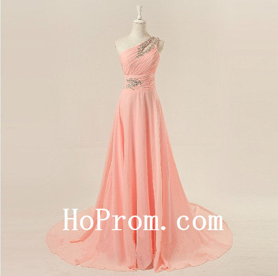 Lovely Cute Prom Dresses,One Shoulder Prom Dress,Evening Dress