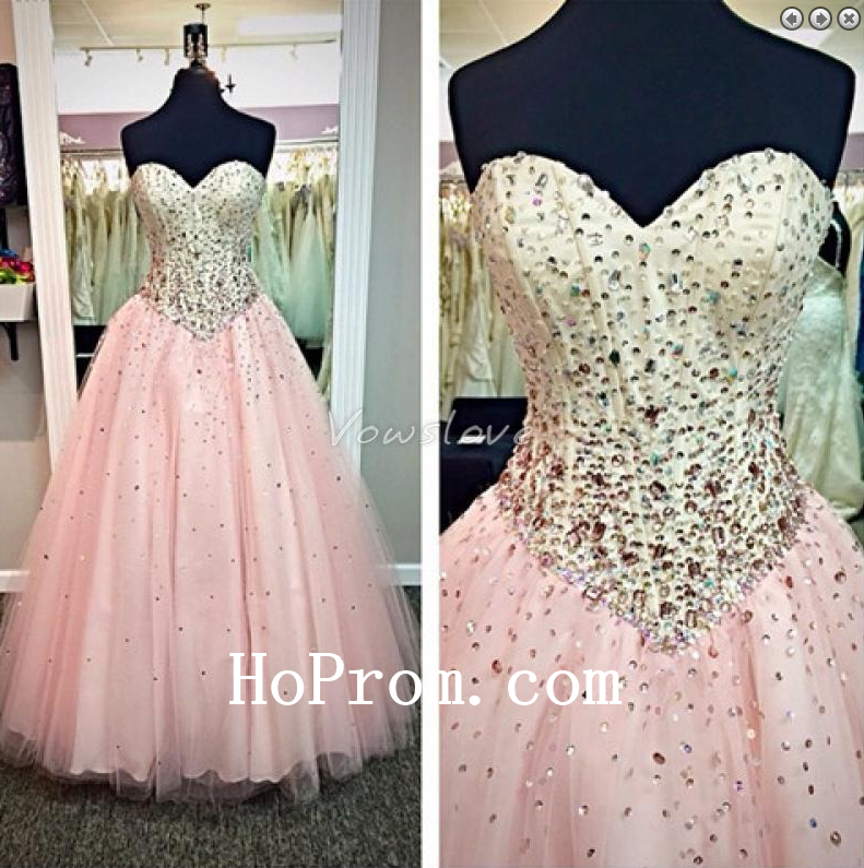 Corset Prom Dresses,Pink Prom Dress,Sequin Evening Dresses