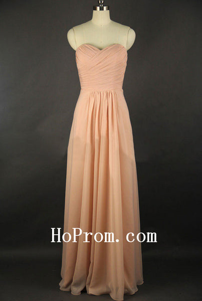 A-Line Chiffon Prom Dress,Long Prom Dresses,Evening Dress