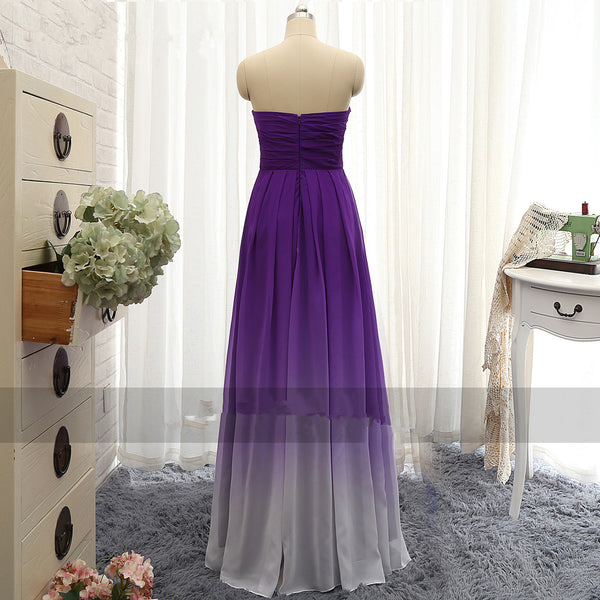 Strapless Prom Dresses,A-Line Prom Dress,Evening Dress