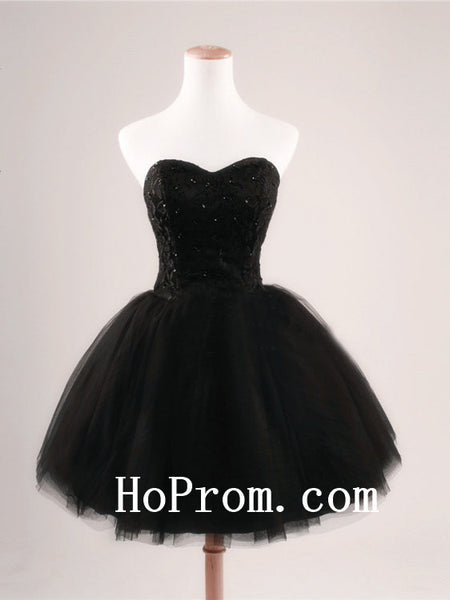Little Black Prom Dresses,Short Prom Dress,Evening Dress