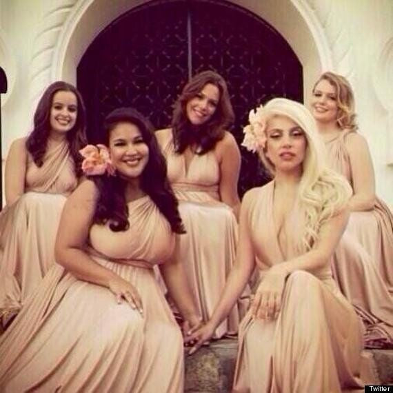 Pink Lady Gaga  Halter Gown Bridesmaid Wedding Dress Celebrity Formal Dress For Sale