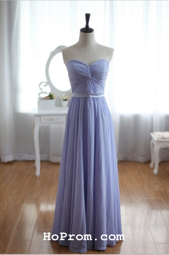 Simple Chiffon A Line Prom Dress Chiffon Evening Dress